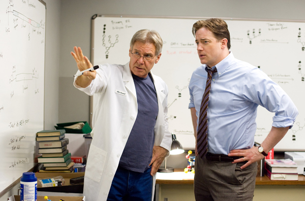 Extraordinary Measures movie image Harrison Ford, Brandon Fraser